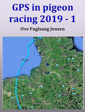 Gps in pigeon race 2019 by Ove Fuglsang Jensen